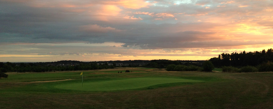 Caversham Heath Golf Club at Caversham Heath Golf Club in Berkshire