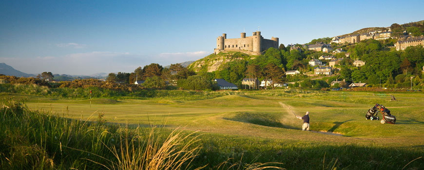 Course at Royal St Davids Golf Club Image