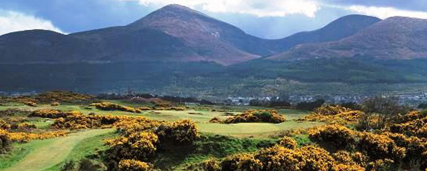 Annesley Links Course at Royal County Down Golf Club Image
