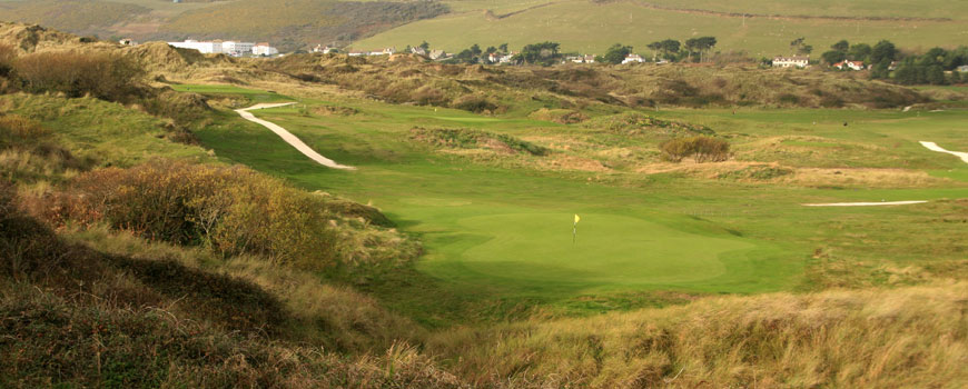West Course at Saunton Golf Club