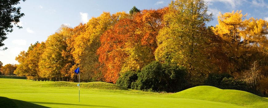 Newbury & Crookham Golf Club at Newbury and Crookham Golf Club in Berkshire