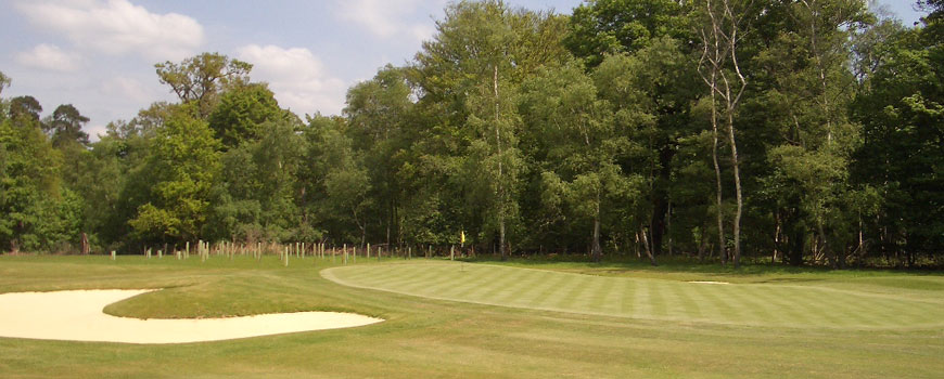New Course at Royal Ascot Golf Club in Berkshire
