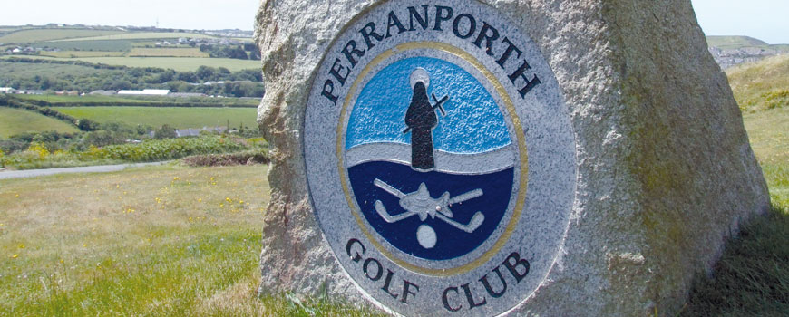 Perranporth Golf Club at Perranporth Golf Club in Cornwall