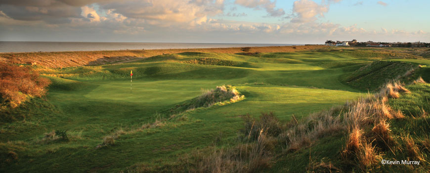 Royal Cinque Ports Golf Club at Royal Cinque Ports Golf Club in Kent