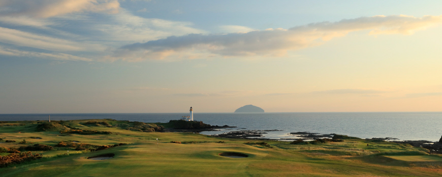 King Robert The Bruce Course at Trump Turnberry Scotland Image