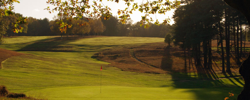 Old Course at Royal Ashdown Forest Golf Club in East Sussex