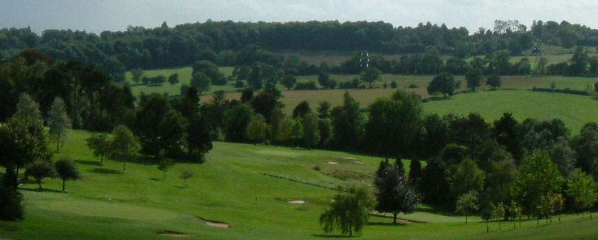 Harewood Downs Golf Club at Harewood Downs Golf Club in Buckinghamshire