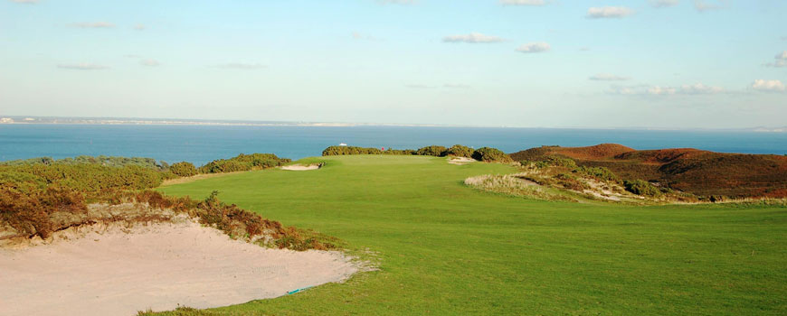 The Purbeck Course at Isle of Purbeck Golf Club in Dorset