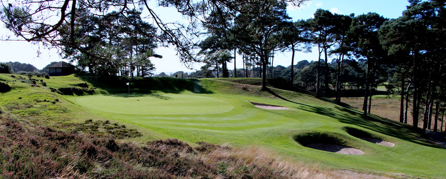 Parkstone Golf Club at Parkstone Golf Club in Dorset