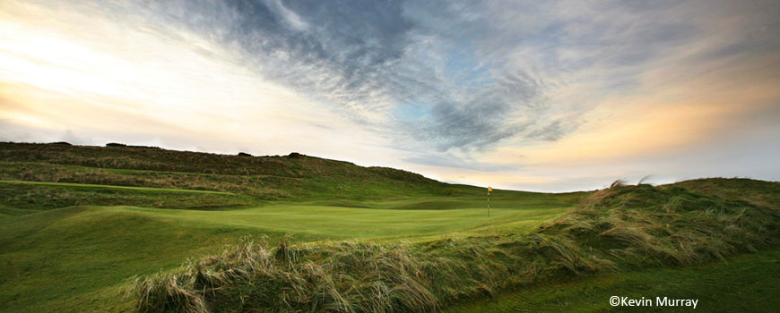 The Mussenden Course at Castlerock Golf Club