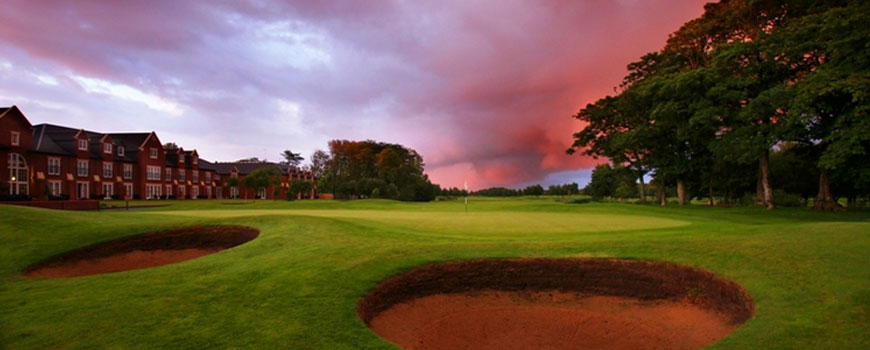 Woodhey Dunes Course  at  Formby Hall Golf Resort and Spa