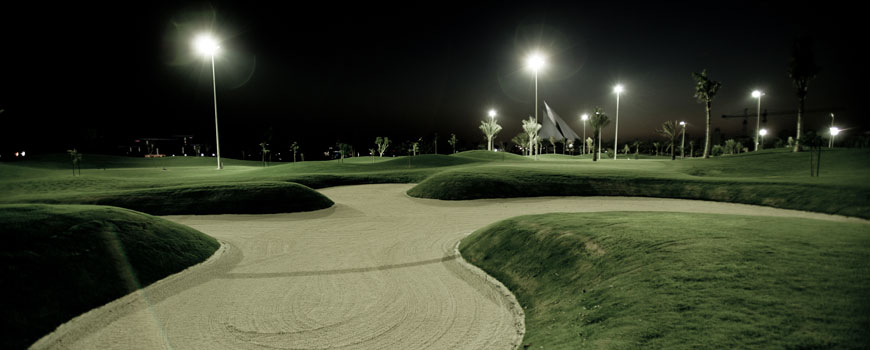Par 3 Course Course at Dubai Creek Golf and Yacht Club Image