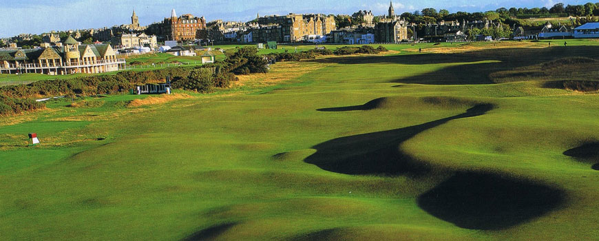 Old Course Course at St Andrews Links Image