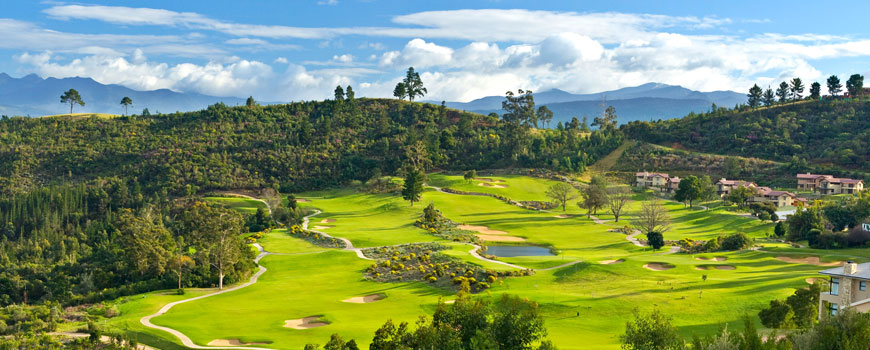 Simola Estate Golf Course Included In Western Cape Golf 10 Night Package at Arabella Hotel and Spa