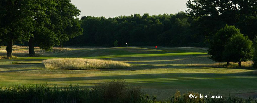 Wellington Course at Sherfield Oaks Golf Club in Hampshire