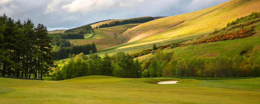 Course at Macdonald Cardrona Hotel Golf and Spa Image
