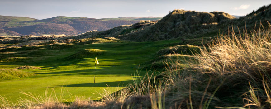 Aberdovey Golf Club Golf Course Included In Summer Three Nights Three Rounds at Aberdovey Golf Club, Dormy House