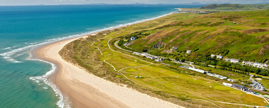 Course at Aberdovey Golf Club Image