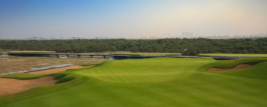 Course at Al Zorah Golf Club Image