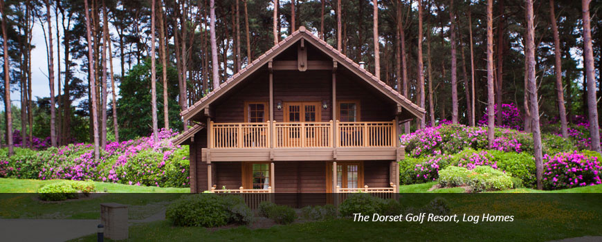Golf Breaks at The Dorset Golf Resort Log Homes and Cottages